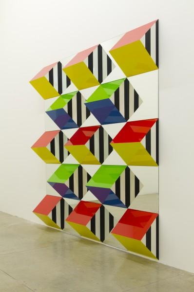 Adoro Arquitetura_ArtRio_Prismas e Espelhos_Daniel Buren_galeria Nara Roesler_A