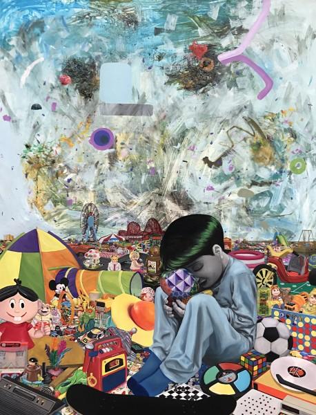 Adoro Arquitetura_Mar de Brinquedos_Walter Nomura (Tinho)_Galeria Movimento_A