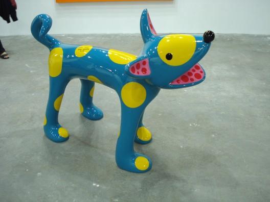 A artista plástica japonesa Yayoi Kusama sempre encanta com suas obras.