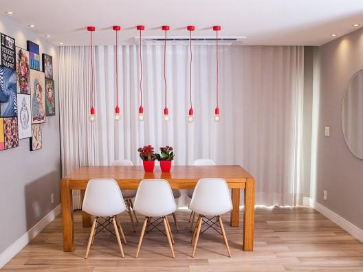 Residência Freguesia - Vista sala de jantar